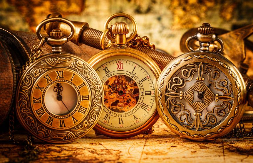 23561060 - vintage antique pocket watch.