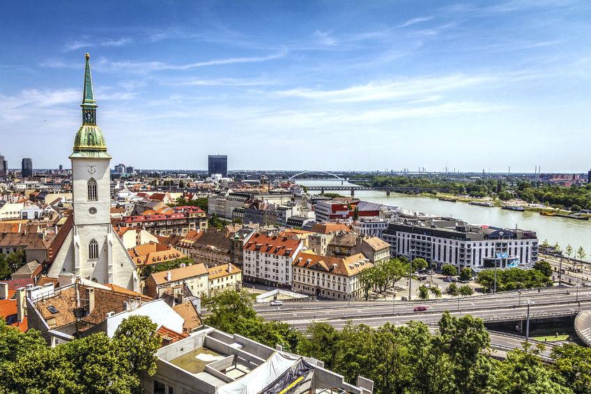 43753534 - bratislava skyline, slovakia