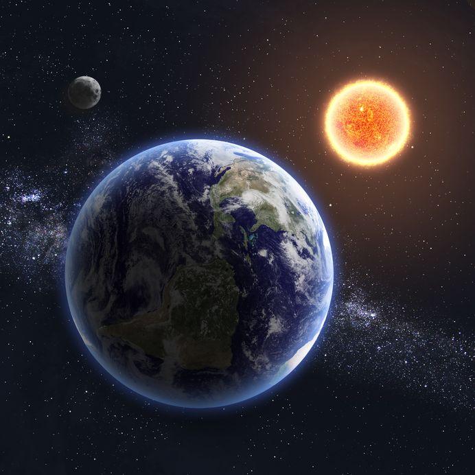 20341055 - earth and sun.
