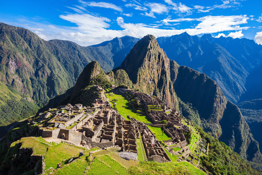 53930554 - machu picchu, a unesco world heritage site in 1983. one of the new seven wonders of the world.