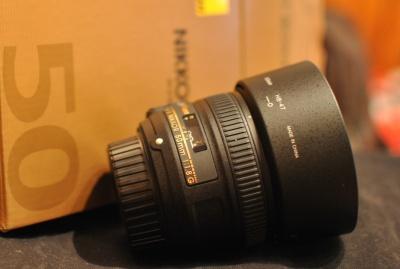 Objektív Nikkor 50mm 1.8G