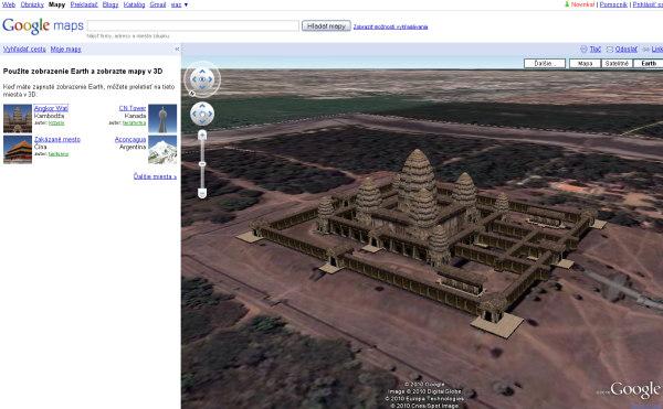 Google Maps 3D Kamodža