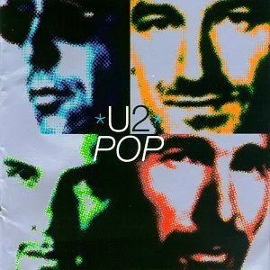 U2 album cover POP Bono Vox