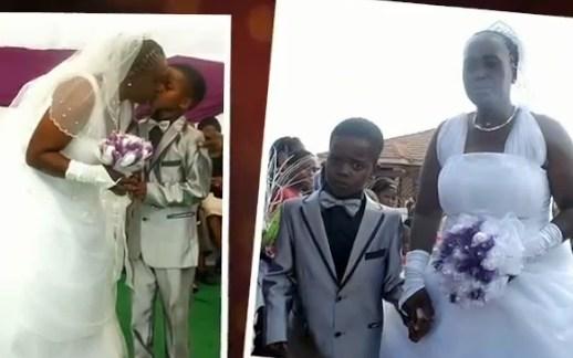 Afrika a svadba chlapca s 61 ročnou ženou, Youtube
