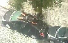 Ochranca auta v Buenos Aires