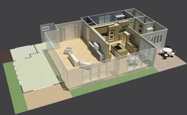 Autodesk Homestyler aplikácia na navrhovaie interiéru