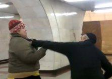 ženská v metre PRAHA