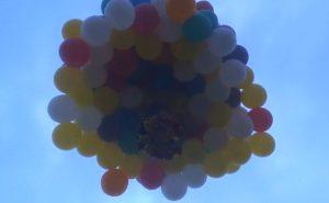 Balóny a cesta Usa Canada