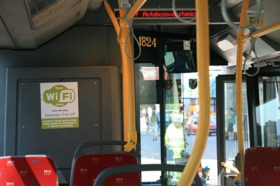 Bratislava MHD wifi