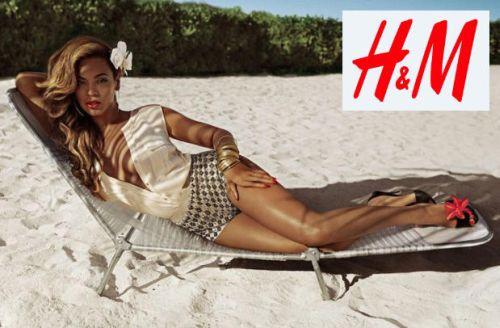 Beyonce fotila pre H&M