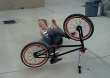 Bicykel, šialené videá a nehody