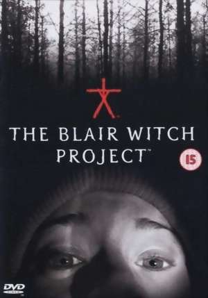 Projekt Blair Witch dvd cover