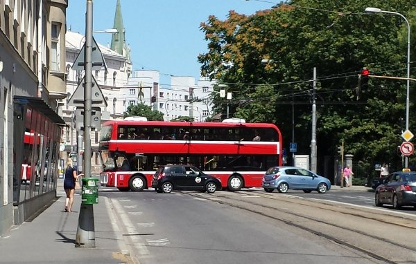 Bratislava a doubledecker