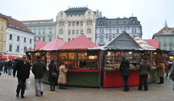 Staromestské vianočné trhy 2012