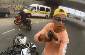 Brazíllia a zlodej motorky