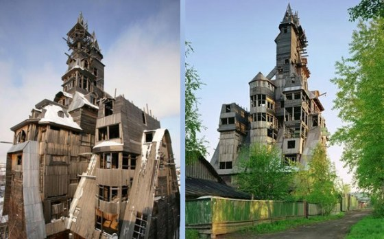 Drevený mrakodrap z Archangelsku