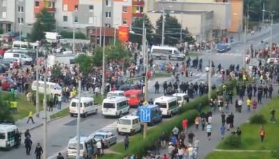 České Budějovice a protirómske protesty