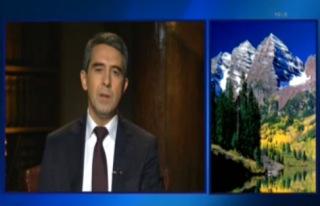 Bulharský prezident a Rocky Mountains