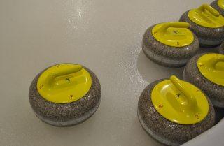 Curling kamene