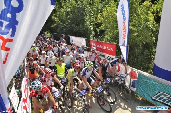 cyklisti na stupava maraton