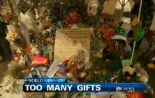 Darčeky v meste Newton