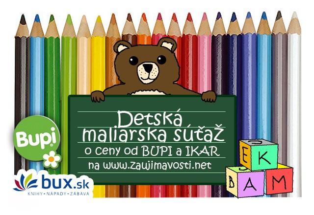 Detská maliarska súťaž: Vyhrajte za kresbičku ceny od Bupi a Ikar