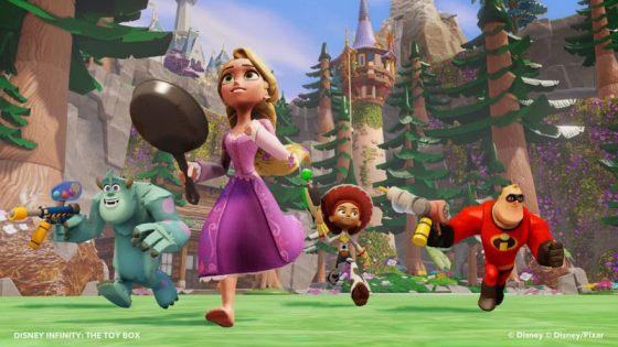 Disney Infinity a Rapunzel