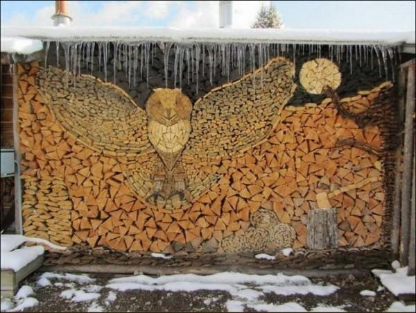 Drevo na zimu