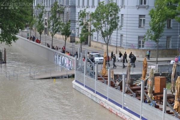 Dunaj Bratislava láka pozornosť turisti