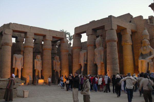 Egyptské pamiatky - Luxor