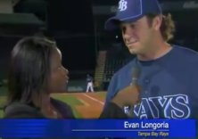 Evan Longoria z Tampa Bay Rays