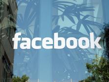 Okno budovy Facebooku