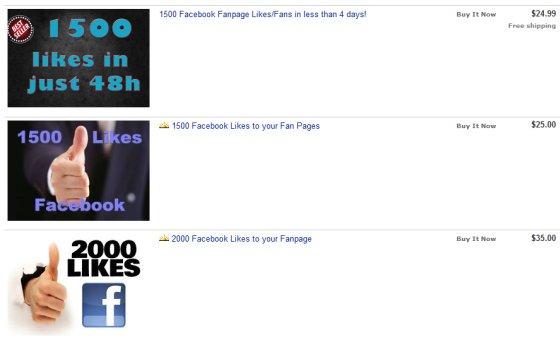 Facebook podvodníci na eBay aukčnom portáli