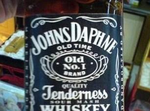 Falošné značky Jack Daniels