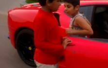 Ferrari a chlapec