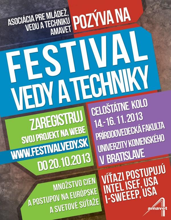 Festival vedy a techniky 2013