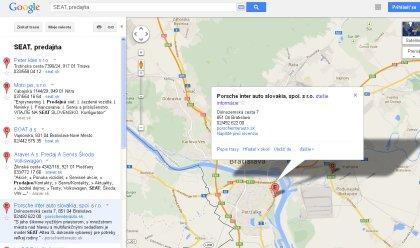 Google miesta