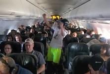 Harlem Shake v lietadle