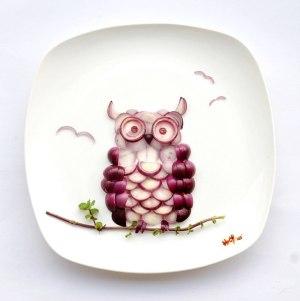 Hong a jej umenie s jedlom