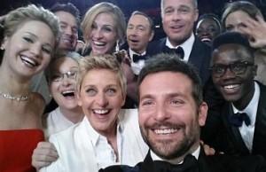 Hviezdy a ich Selfie na Oscaroch