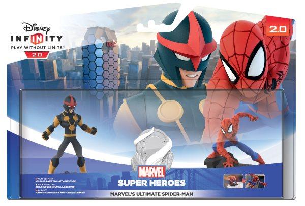 Infinity Spiderman Playset