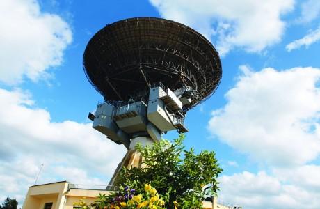 Irbene satelity v Lotyšsku