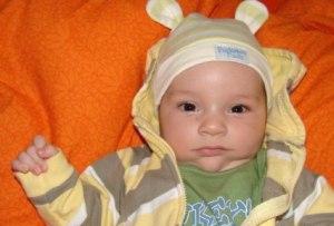 Jarko, bábätko a ilustračná fotografia