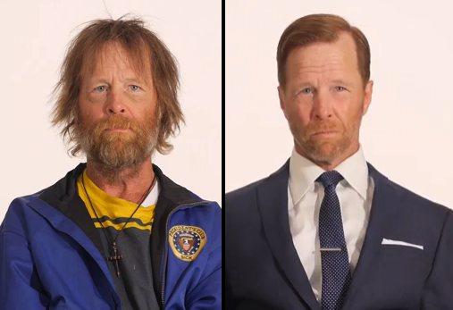 Veterán Bezdomovec Jim a jeho zmena