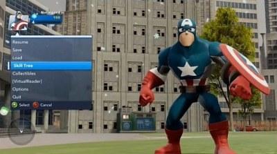 Kapitán Amerika, v Disney Infinity