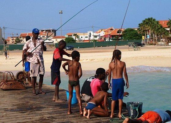 Kapverdy a černoškovia na ostrove Sal