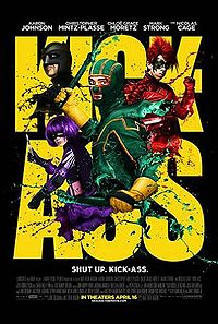 Kick Ass - plagát filmu