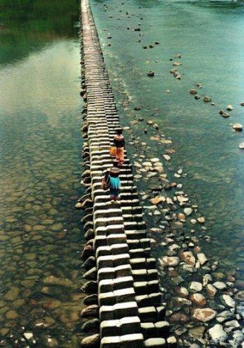 Klavírový most z Číny
