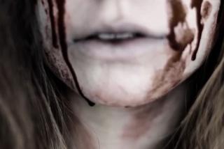krv na Halloweene