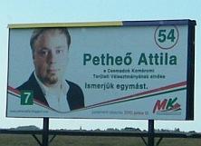 Maďarský billboard SMK